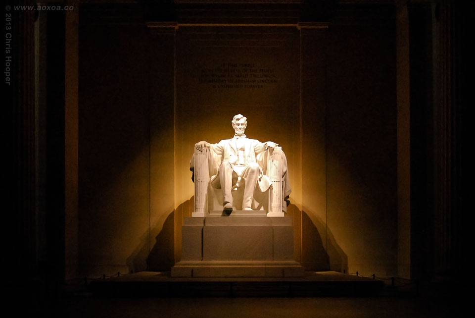 Abraham Lincoln Memorial Monument Washington D.C.