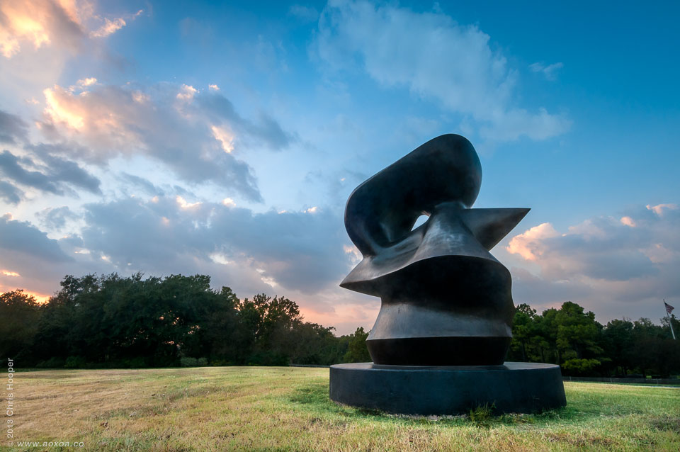 Henry Moore Sculpture Houston Texas
