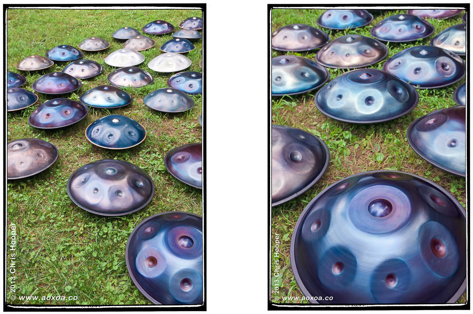 Handpan Halo SPB Hang Bells