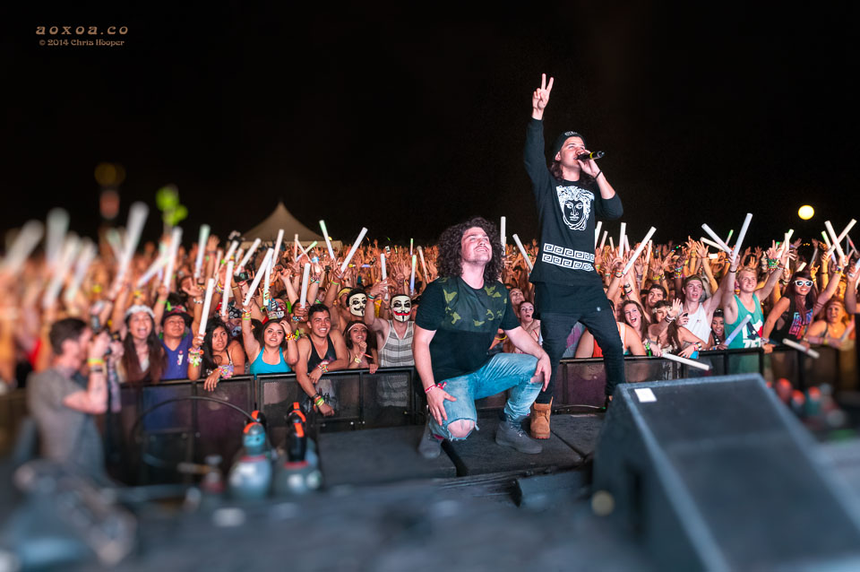 dvbbs posing at the euphoria music festival