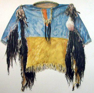 Scalp Shirt Crazy Horse