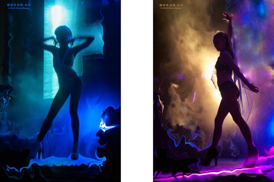 Stage Dancers Euphoria Mustic Festival 2014