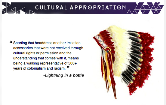 headdress does not mean racism or colonialism