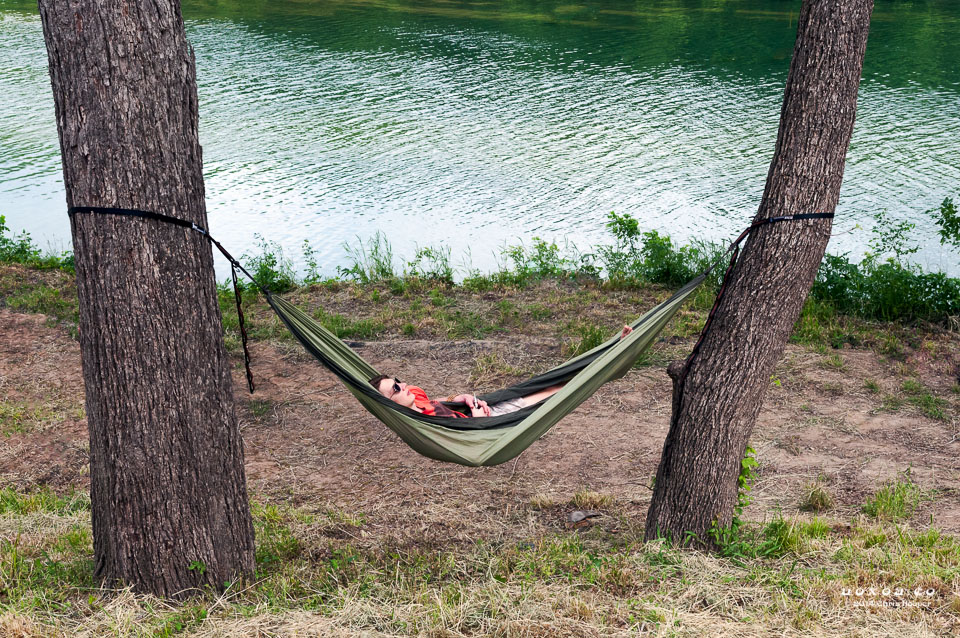 Hammock at Euphoria Music and Camping Festival