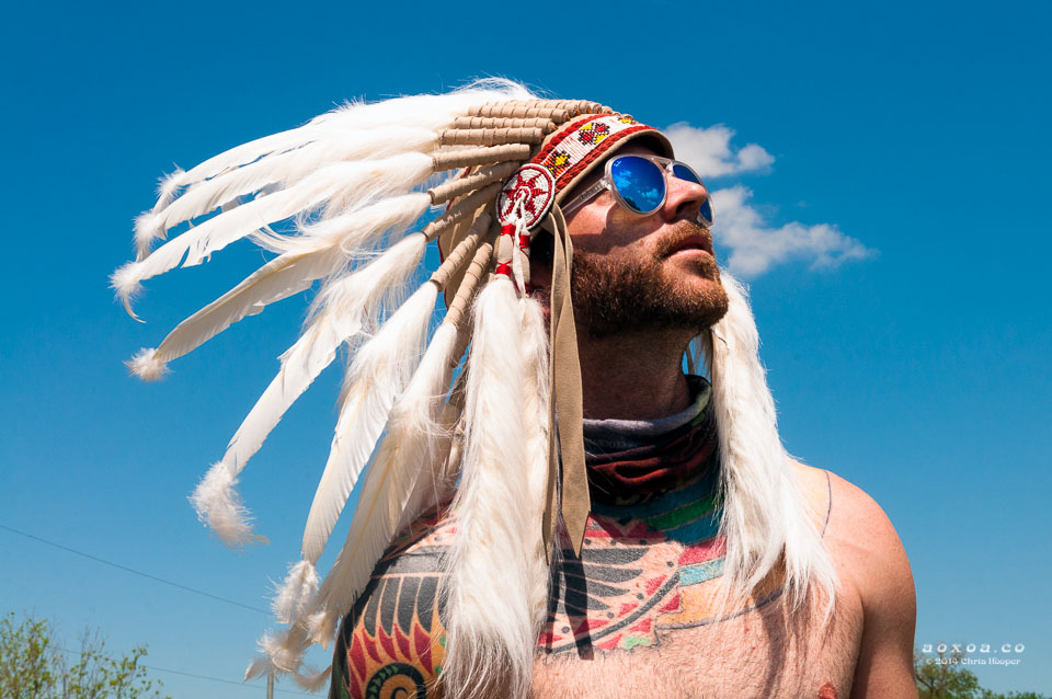 Headdress is not racism or genocide