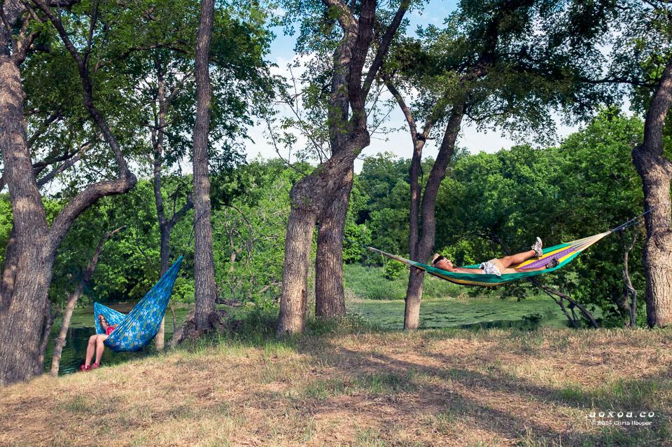 hammocks at Euphoria Music and Camping Festival