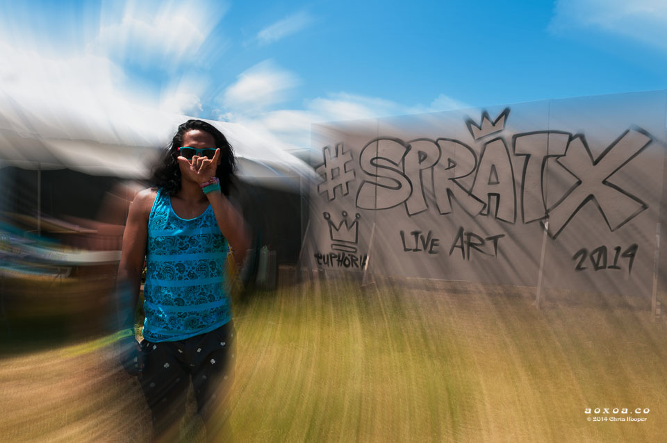 spratx at Euphoria Music and Camping Festival
