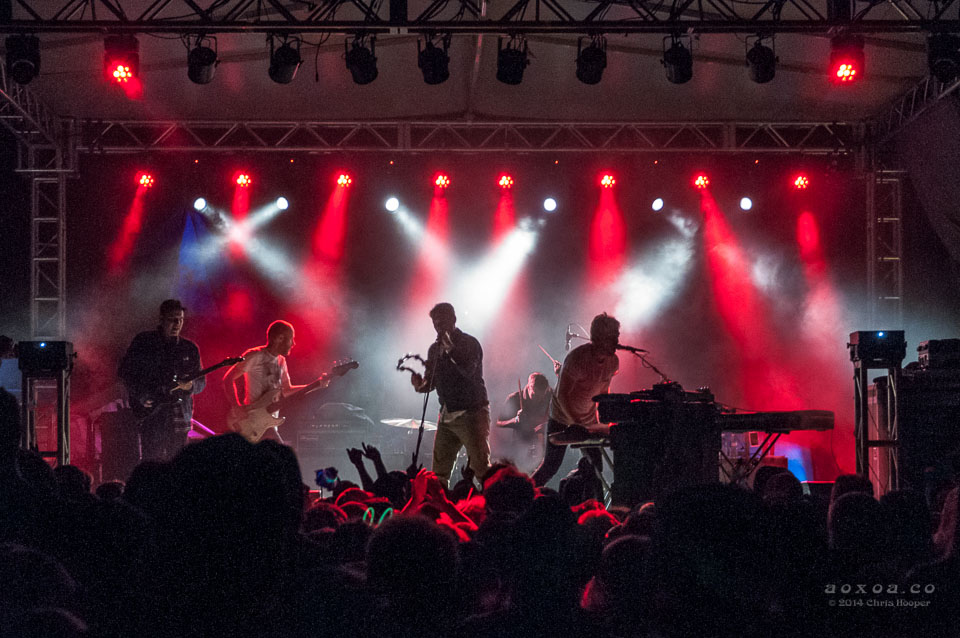 Cold War Kids on Utopiafest's Cypress Stage