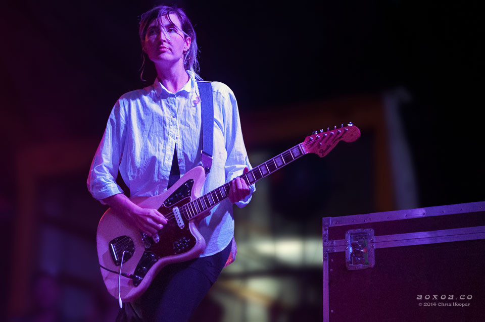 Emily Kokal of Warpaint utopiafest by aoxoa hooper