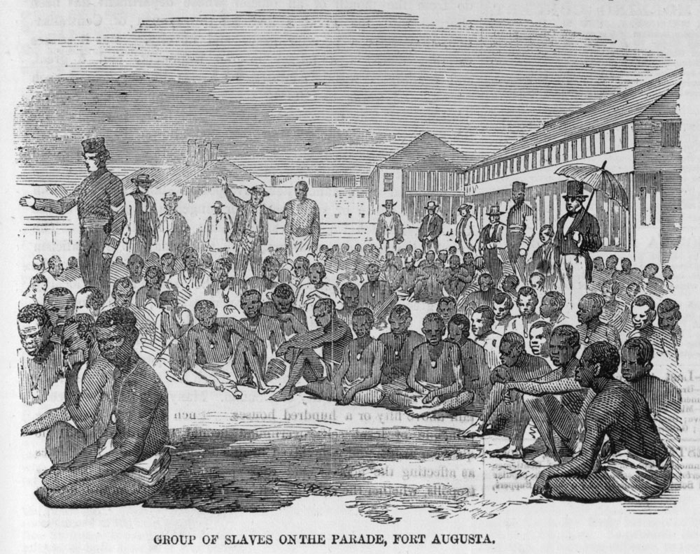 an analysis of the middle passage for the slave immigrants to the united states