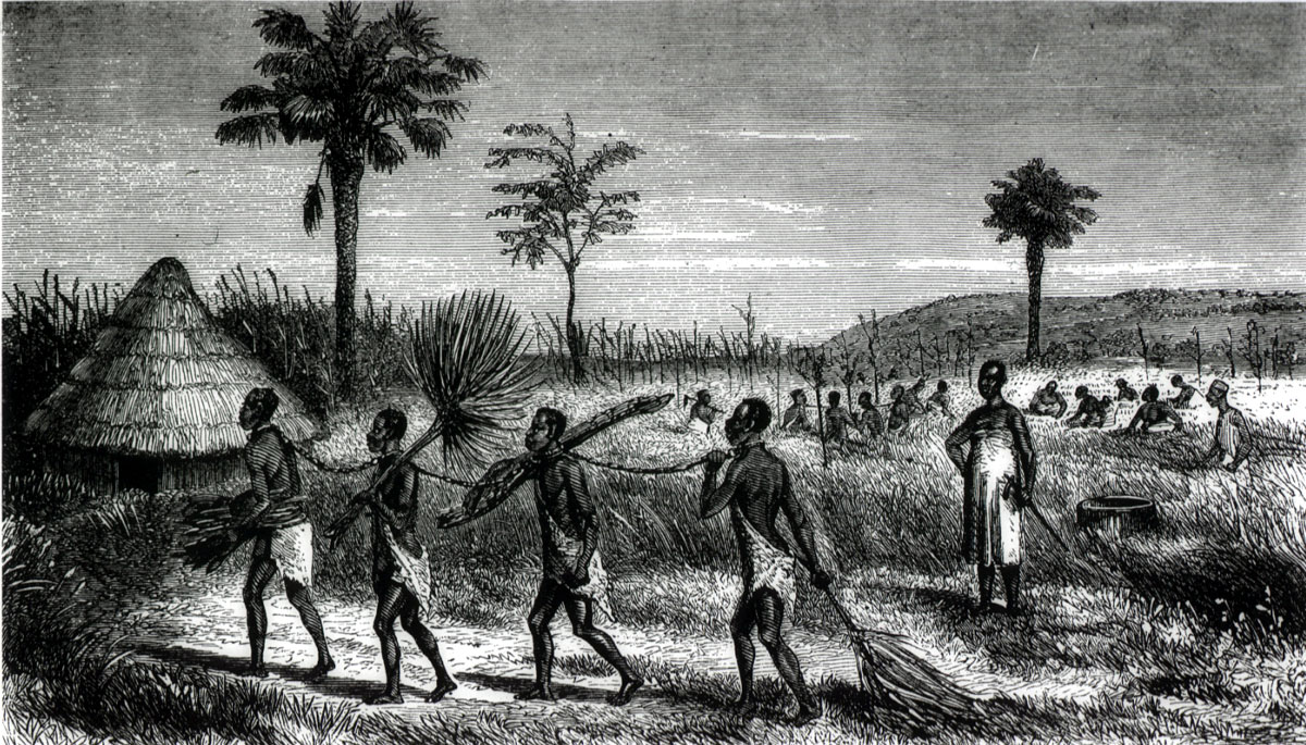 Africans enslaved Africans befoer the middle passage