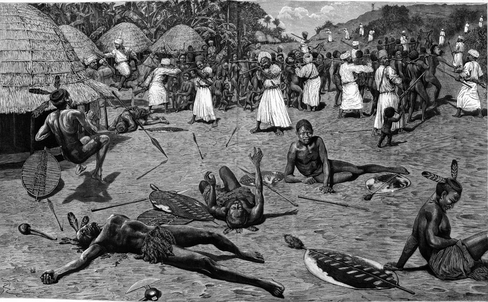 Africans hunt for new slaves to sell