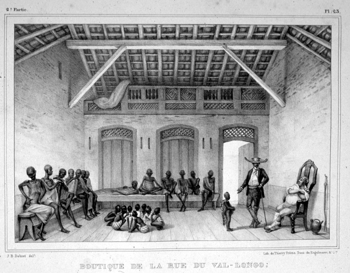 Slave Market, after the middle passage