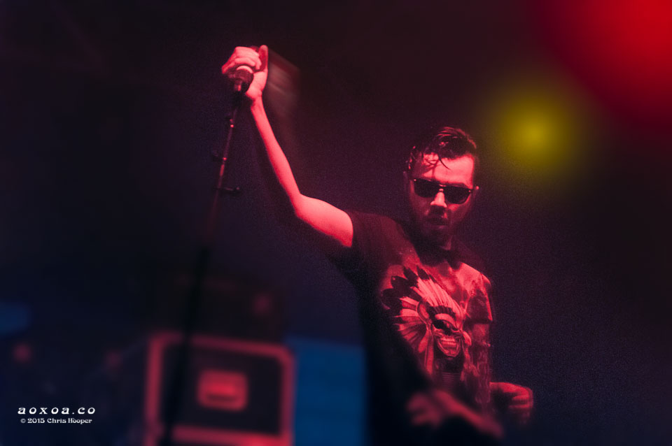 Aaron Behren of Ghostland Observatory at Euphoria Music Festival by AoxoA
