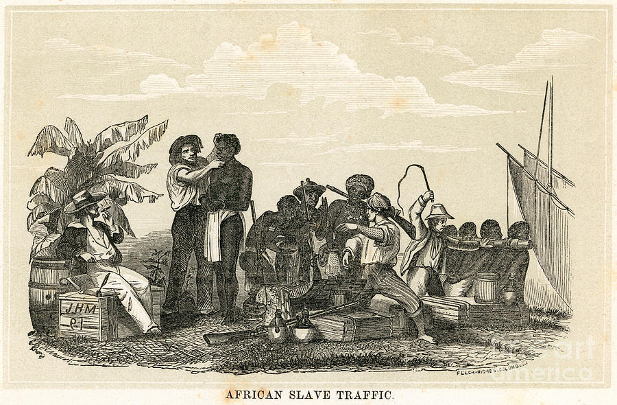 African slave trade, the middle passage