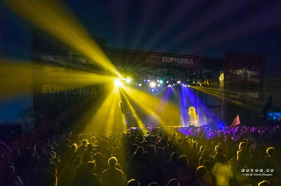 euphoria music camping festival 2015 stage aoxoa
