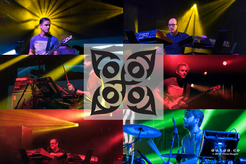 theNEWDEAL band review collage by aoxoa
