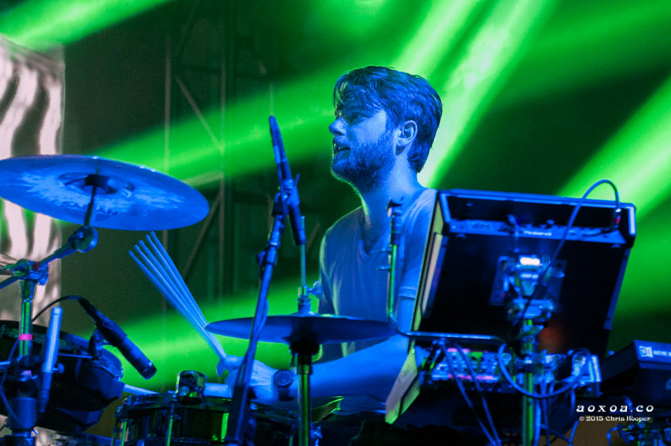 thenewdeal's Joel Stouffe at euphoria music festival aoxoa
