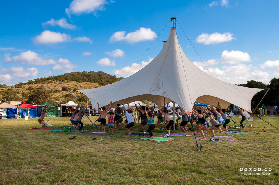 utopiafest yoga tent by aoxoa photography