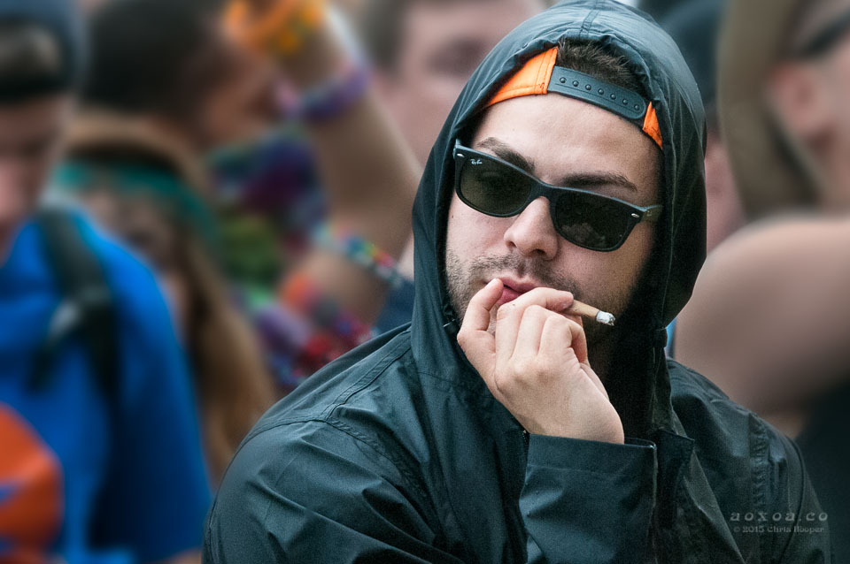 smoking at euphoria music festival by aoxoa hooper