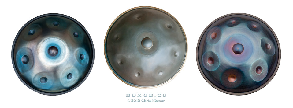 Who coined the term handpan by AoxoA