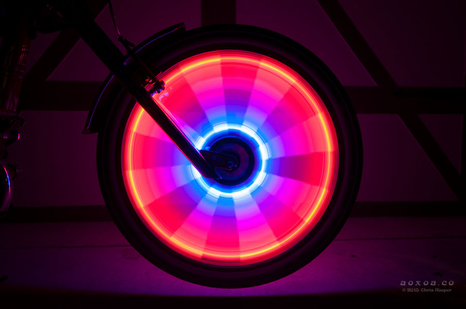Radlicht Led Bike Lights For A Bicycle Wheel