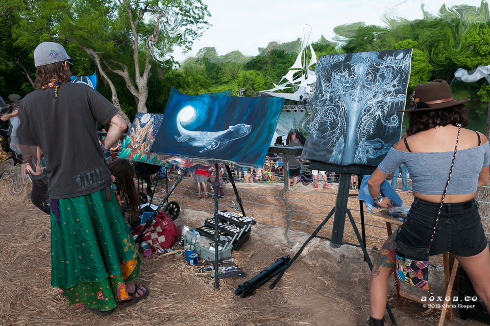 aoxoa painters euphoria music camping festival