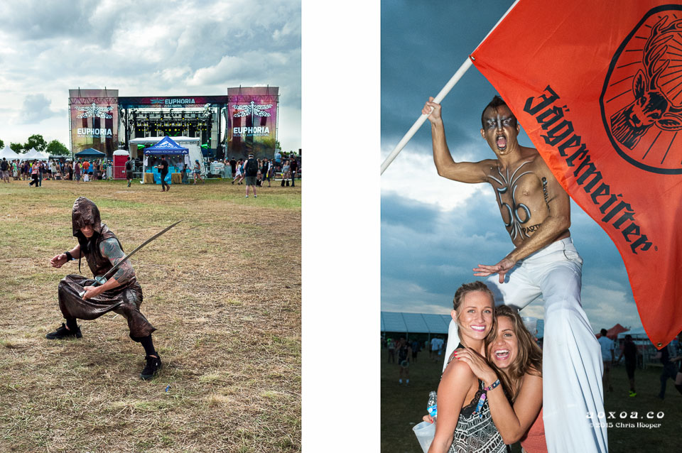 aoxoa perfrmers euphoria music camping festival