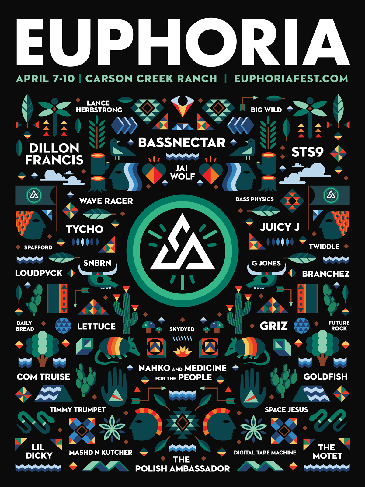 Lineup | 5th annual Euphoria Music Festival