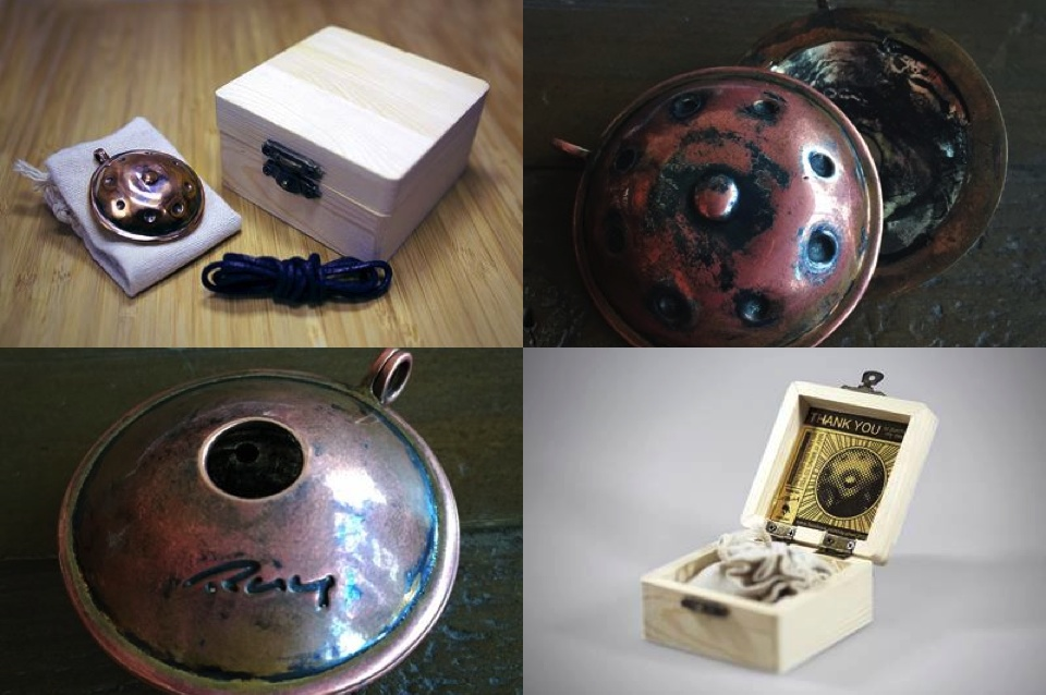 hang handpan gifts and accessories copper