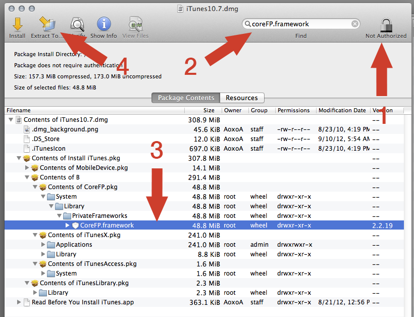 Revert from iTunes 11 to iTunes 10.7