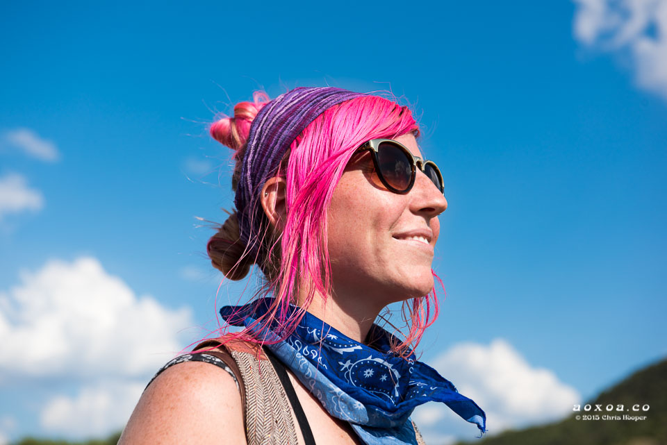 Pink hair Utopiafest review 2015 by aoxoa