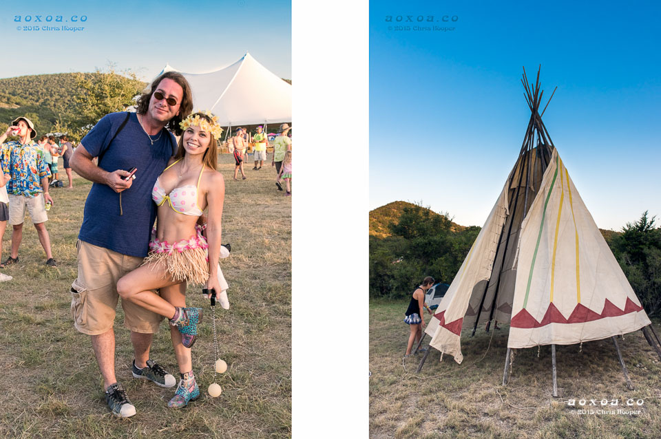 tee-pee Utopiafest review 2015 by aoxoa