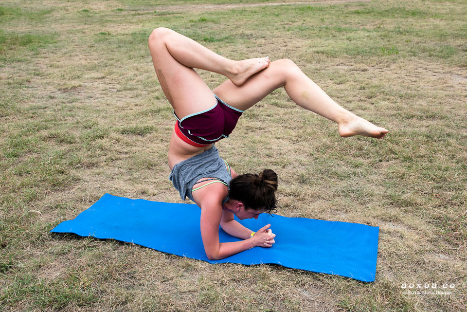 Yoga at utopiafest review 2015 aoxoa