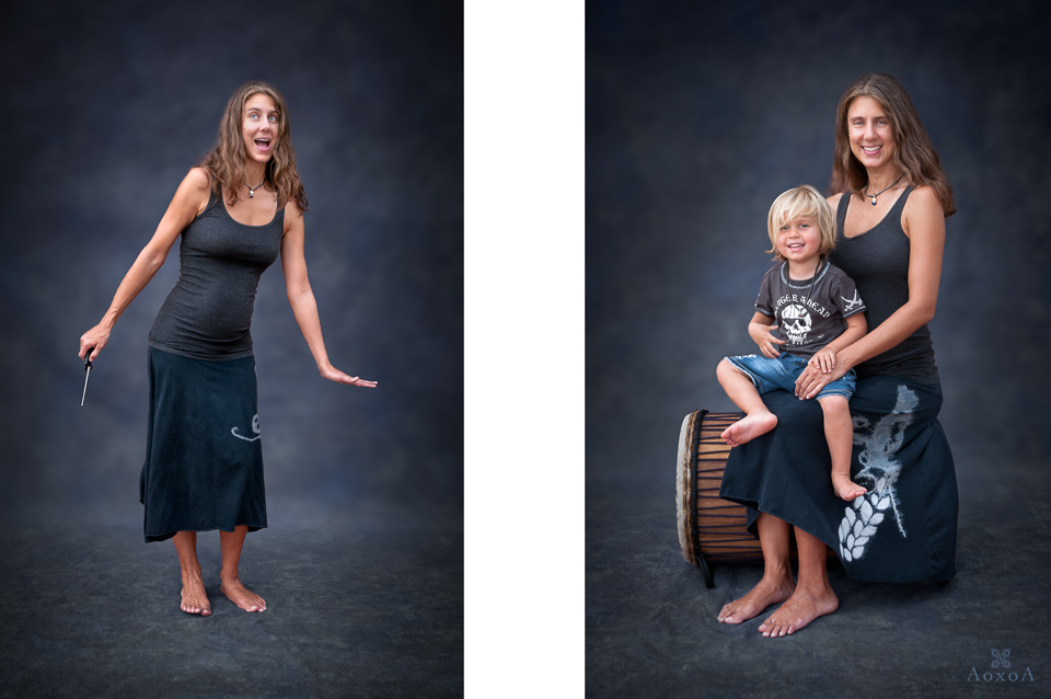 family portrait by Austin Texas photographer AoxoA