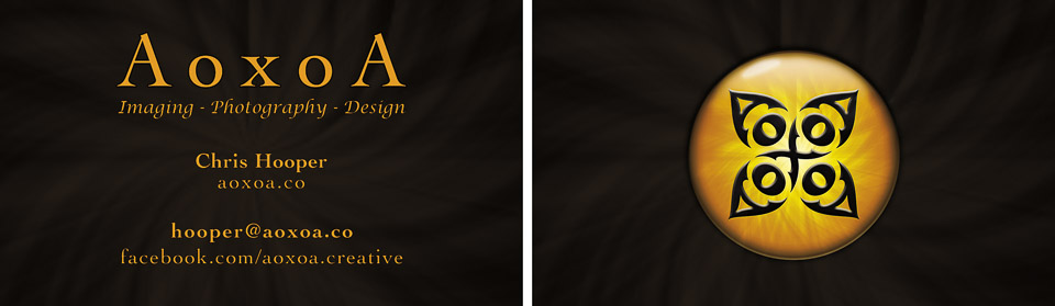 business card design by AoxoA