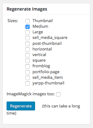regenerate images to keep EXIF IPTC Metadata