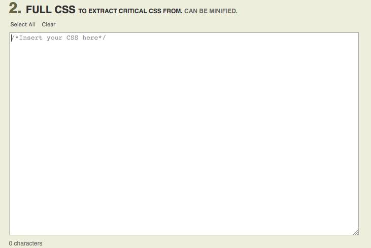 inline defer render blocking css step 2