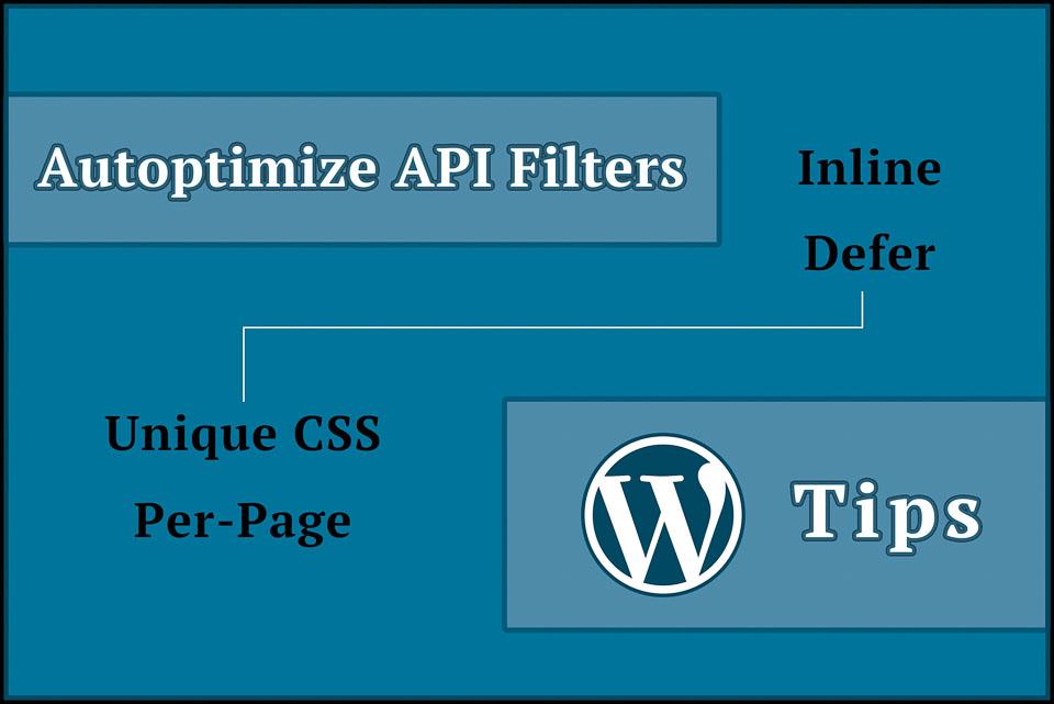 inline defer render blocking css with autoptimize