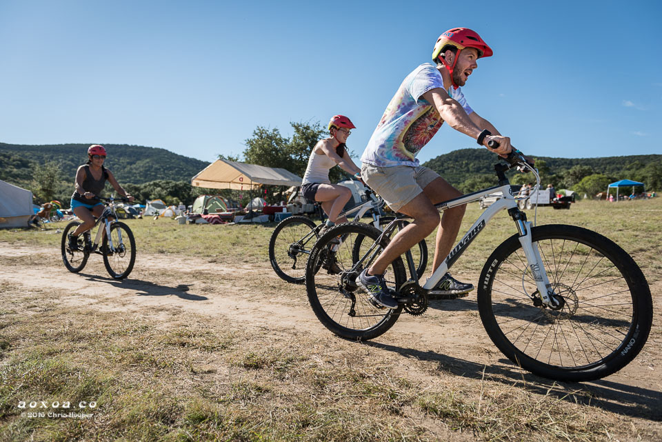 Utopiafest offers mountain bike tours.