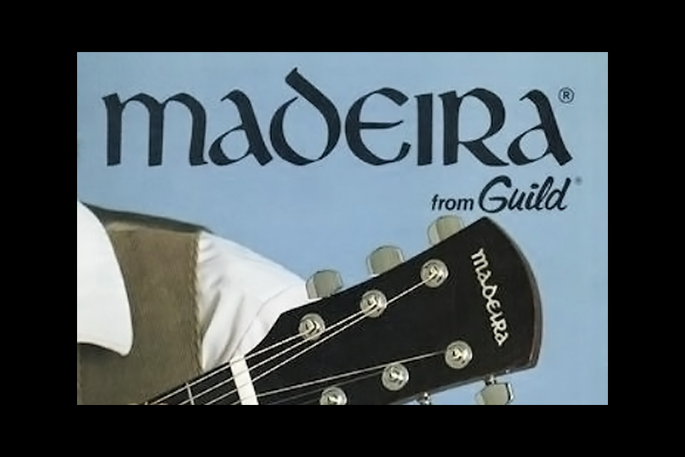 Madeira by Guild acoustic guitar